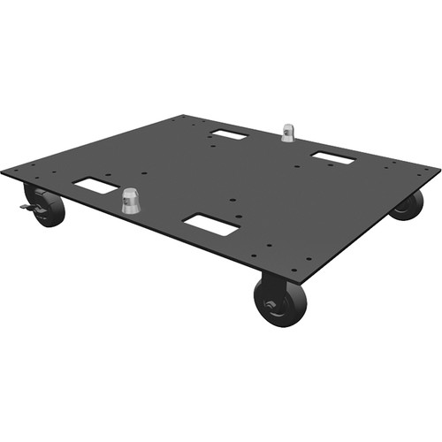 """Global Truss 24""""x30"""" Steel Base Plate with Casters"""