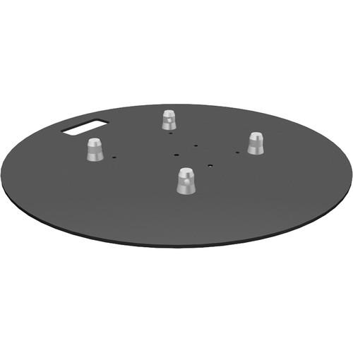 "Global Truss Round Steel 28""x28"" Base Plate (R)"