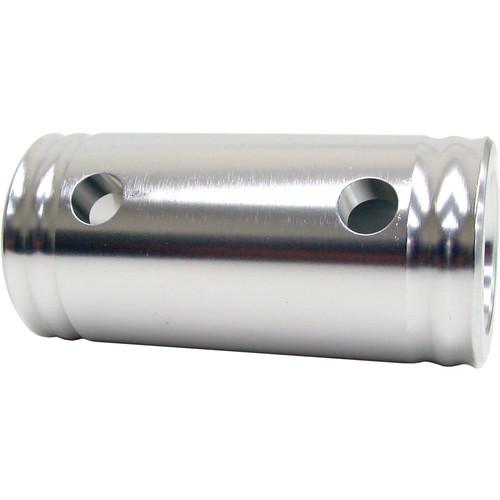 "Global Truss Genderless 4.1"" Spacer 105 for 2"" Truss (Polished Aluminum)"