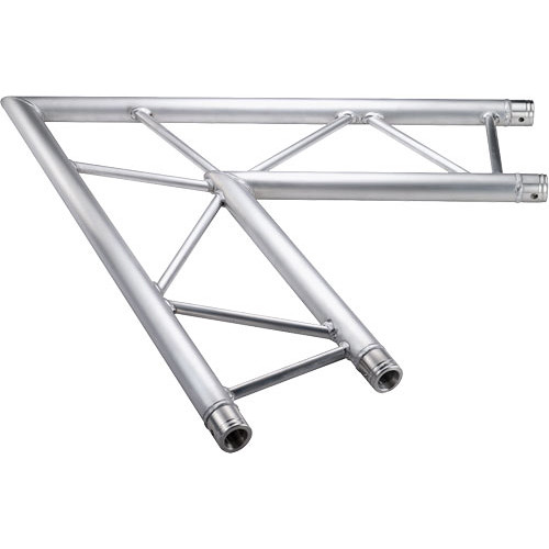 Global Truss Horizontal 2-Way Corner Junction for F32 I-Beam Truss System (60&deg, 3.28')