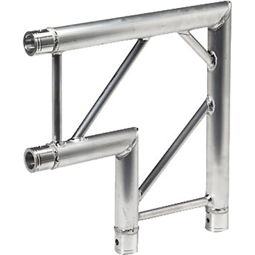 Global Truss Horizontal 2-Way Corner Junction for F32 I-Beam Truss System (90&deg, 1.64')