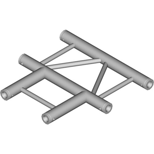 Global Truss 3-Way Horizontal T-Junction for F32 I-Beam Truss System (1.64')