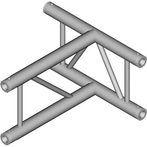 Global Truss 3-Way Vertical T-Junction for F32 I-Beam Truss System (1.64')