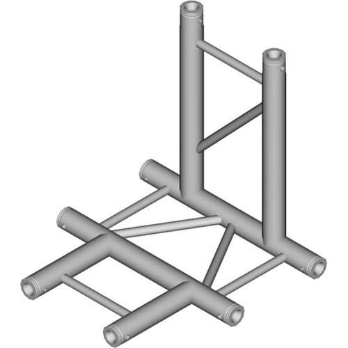 Global Truss 4-Way Horizontal T-Junction for F32 I-Beam Truss System (1.64')