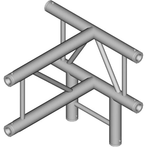Global Truss 4-Way Vertical T-Junction for F32 I-Beam Truss System (1.64')