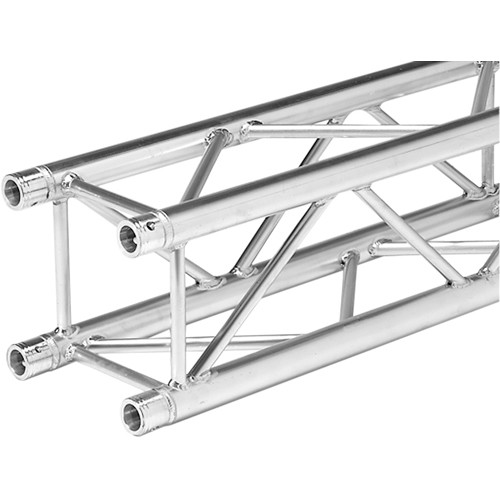 Global Truss 4.10' Straight Square Segment for F34 Square Truss (Aluminum)
