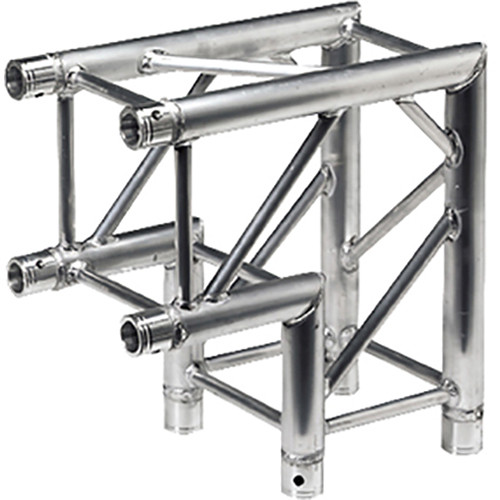 Global Truss SQ-4121 2-Way 90&deg F34 Square Truss Corner (Silver)