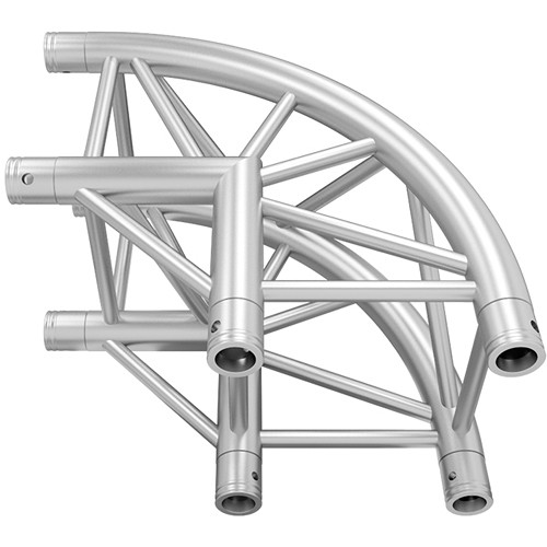 Global Truss Rounded 2-Way 90-Degree Corner