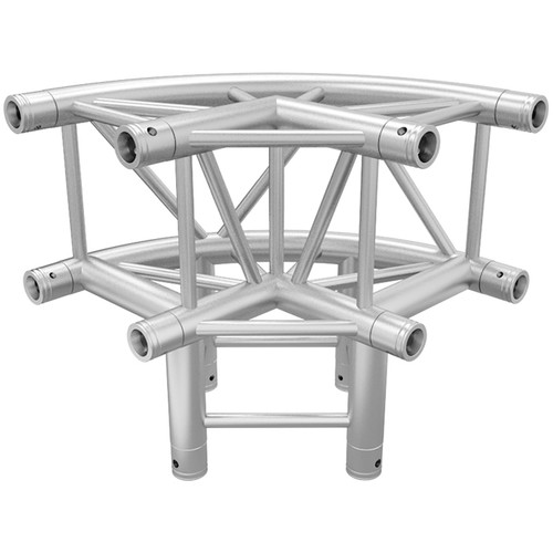 Global Truss Rounded 3-Way 90-Degree Corner
