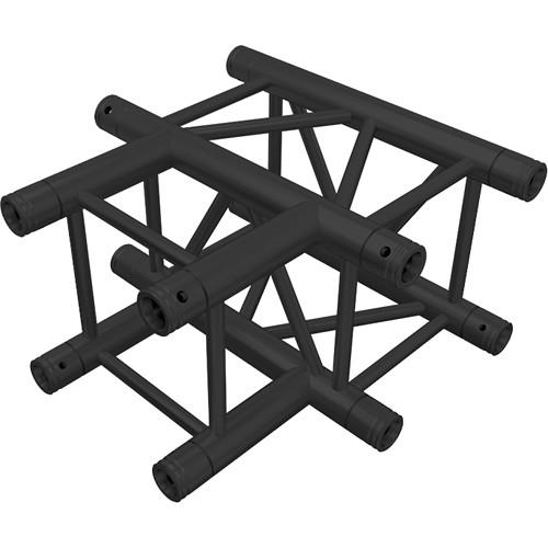Global Truss 3-Way 90 Degree T-Junction Black Powder Coat