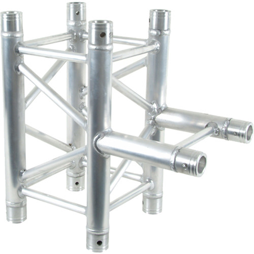 Global Truss 3-Way Square to I-Beam T-Junction for F34 Square Truss System (1.64')
