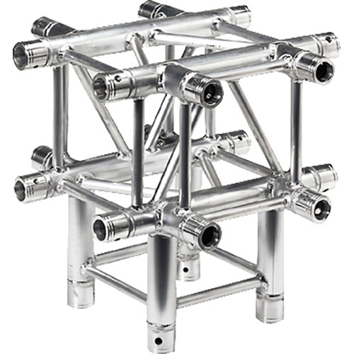 Global Truss 1.64' 5-Way T-Junction for F34 Square Truss