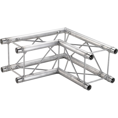 Global Truss 2-Way 90&deg Corner for F24 Square Truss System (1.64')