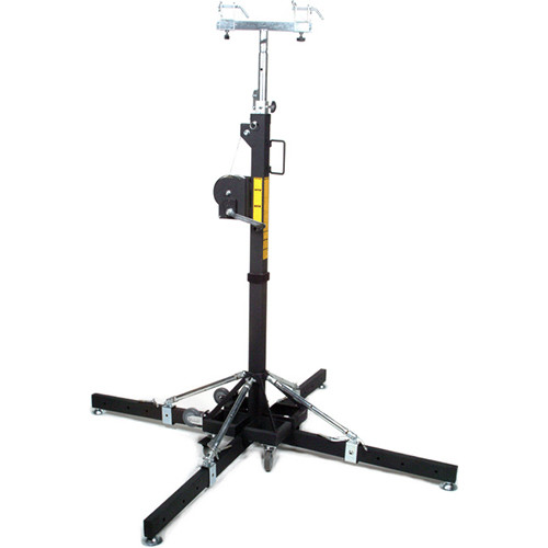 Global Truss ST-157 Medium-Duty Crank Stand with Outriggers (15.7')