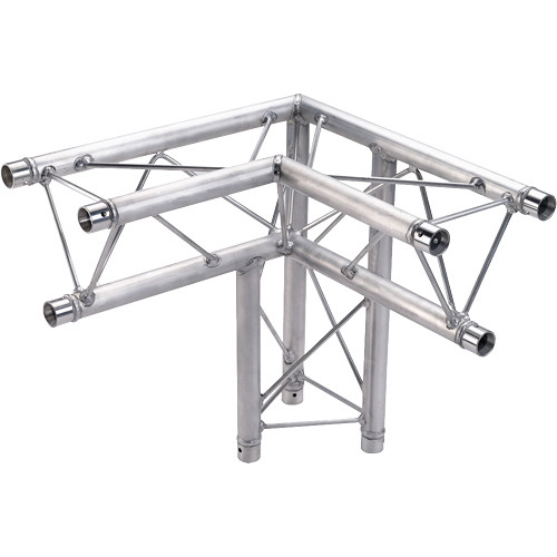 Global Truss 3-Way 90&deg Apex Down - Right Corner for F23 Triangular Truss System (1.64')