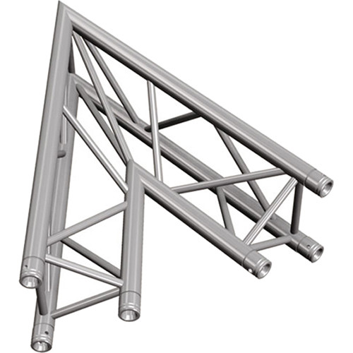 Global Truss Two-Way 45&deg Apex In Corner for F33 Triangular Truss System (3.28')