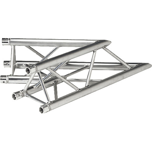 Global Truss Two-Way 45&deg Apex Up/Down Corner for F33 Triangular Truss System (3.28')