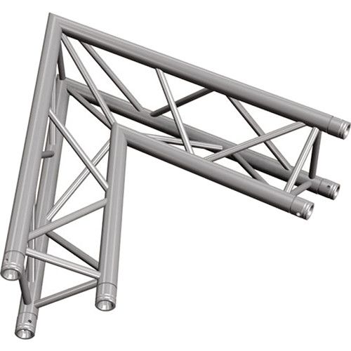 Global Truss Two-Way 60&deg Apex In Corner for F33 Triangular Truss System (3.28')