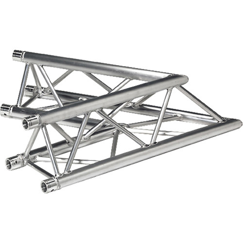 Global Truss Two-Way 60&deg Apex Up/Down Corner for F33 Triangular Truss System (3.28')