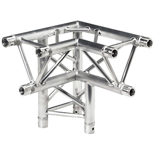 Global Truss Two-Way 90&deg Apex Up/Down Corner for F33 Triangular Truss System (1.64')