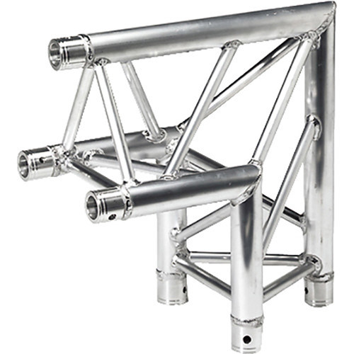 Global Truss Two-Way 90&deg Apex Out Corner for F33 Triangular Truss System (1.64')