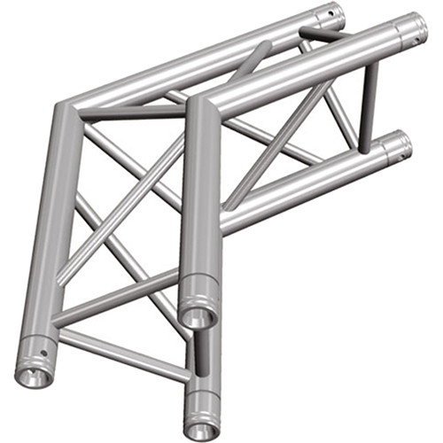 Global Truss Two-Way 120&deg Apex Out Corner for F33 Triangular Truss System (1.64')