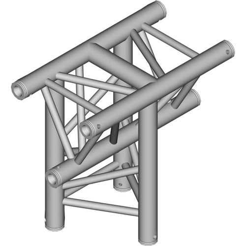 Global Truss 1.64' 3-Way Triangular Horizontal T-Junction Apex In for F33 Triangle Truss
