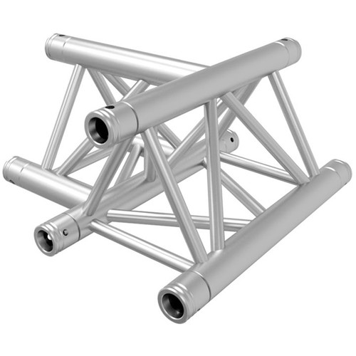 Global Truss TR-4096H-U/D 3-Way Triangular Horizontal T-Junction Apex Up/Down Truss (1.64')