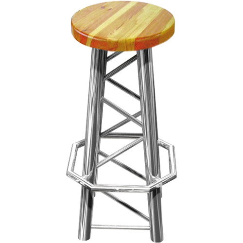 Global Truss Truss Bar Stool with Straight Legs