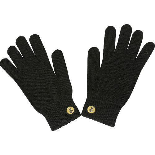 Glove.ly SOLID Winter Touchscreen Gloves (Black, Large)