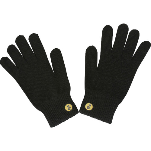 Glove.ly SOLID Winter Touchscreen Gloves (Black, Small)
