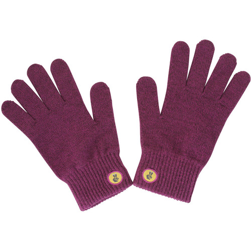 Glove.ly SOLID Winter Touchscreen Gloves (Purple, Medium)