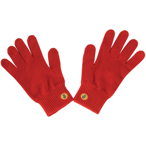 Glove.ly SOLID Winter Touchscreen Gloves (Red, Medium)