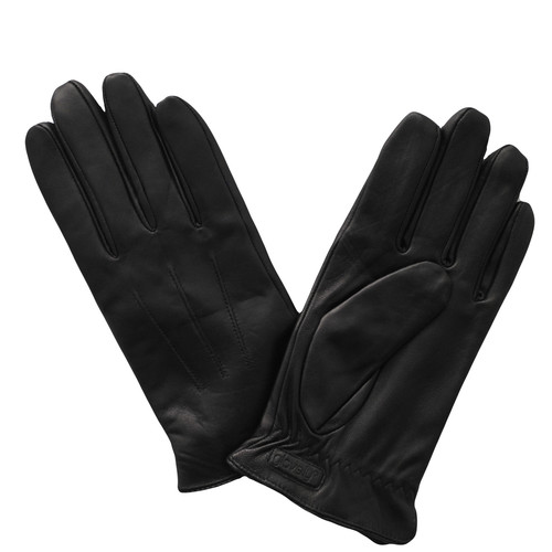 Glove.ly Women's Leather Touchscreen Gloves (Black, X-Large)