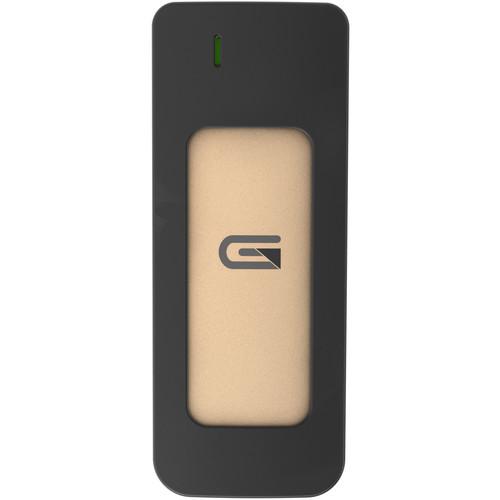 Glyph Technologies Atom 2TB SSD/ USB-C (3.1,Gen2)/ USB3/ Thunderbolt 3 (Gold)
