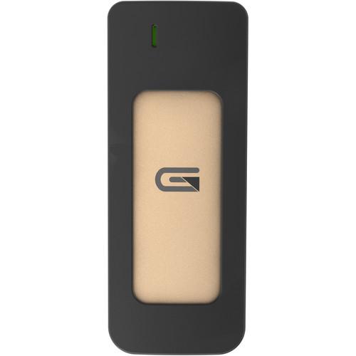 Glyph Technologies 525GB Atom USB 3.1 Type-C External SSD (Gold)