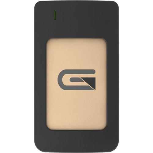 Glyph Technologies Atom RAID 1TB USB 3.1 Type-C External SSD (2 x 500GB, Gold)