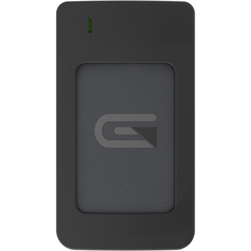 Glyph Technologies Atom RAID 1TB USB 3.1 Type-C External SSD (2 x 500GB, Gray)