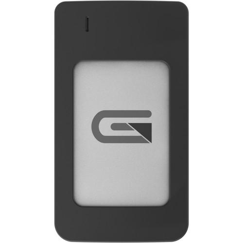 Glyph Technologies Atom RAID 1TB USB 3.1 Gen 2 Type-C External SSD (2 x 500GB, Silver)