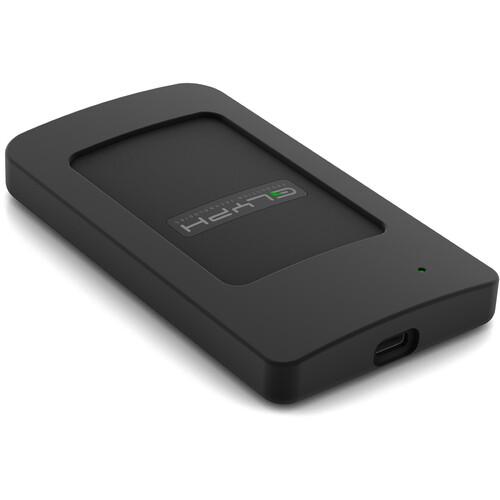 Glyph Technologies Atom RAID 2TB USB 3.1 Type-C External SSD (2 x 1TB, Black)