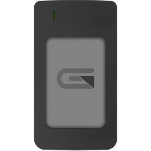 Glyph Technologies Atom RAID 4TB USB 3.1 Type-C External SSD (2 x 2TB, Gray)