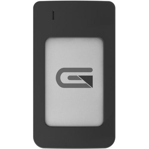 Glyph Technologies Atom RAID 4TB USB 3.1 Gen 2 Type-C External SSD (2 x 2TB, Silver)