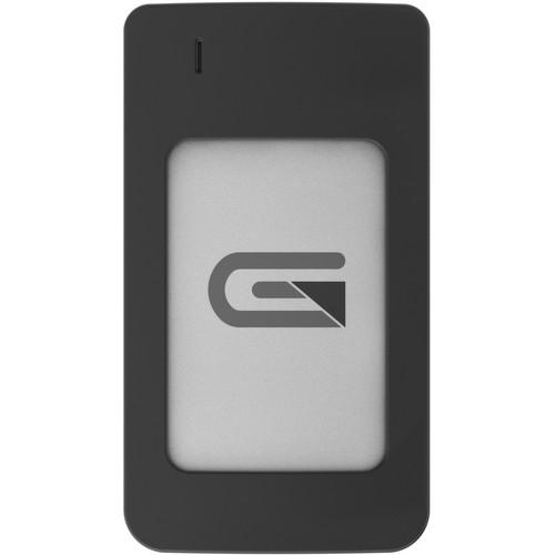 Glyph Technologies Atom RAID 500GB USB 3.1 Gen 2 Type-C External SSD (2 x 250GB, Silver)