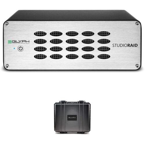 Glyph Technologies SR8000 8TB StudioRAID Storage Array Kit with Studio Hardshell Case