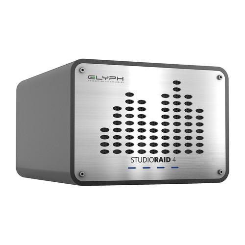 Glyph Technologies StudioRAID4 4TB 4-Bay RAID Array (4 x 1TB | USB 3.0, FireWire 800, eSATA)