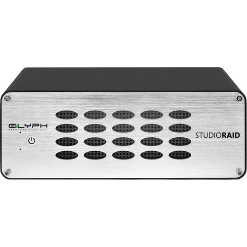 Glyph Technologies StudioRAID 20TB 2-Bay Thunderbolt 2 RAID Array (2 x 10TB)