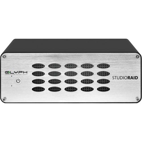 Glyph Technologies StudioRAID TB 20TB 2-Bay Thunderbolt 2 RAID Array (2 x 10TB)