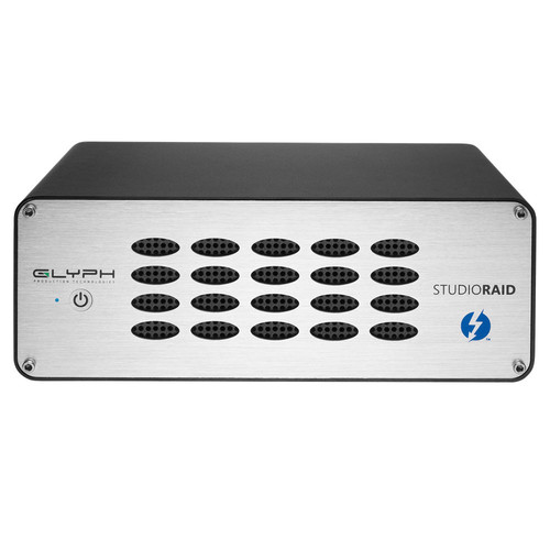Glyph Technologies StudioRAID Thunderbolt 2 Enterprise Class 8TB 2-Bay Thunderbolt 2 RAID Array (2 x 4TB)