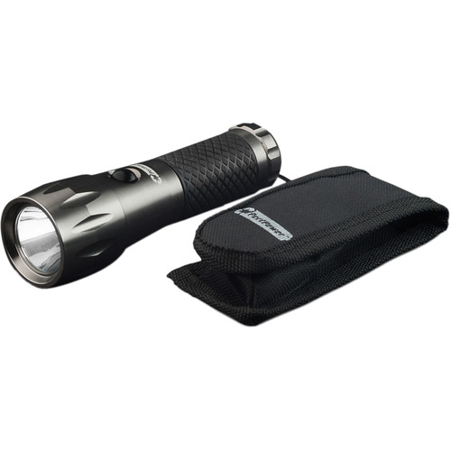 Go Green 3-Watt LED Tactical Flashlight with Carrying Pouch
