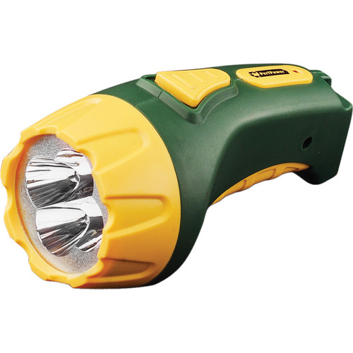 Go Green 4-LED Rechargeable Flashlight
